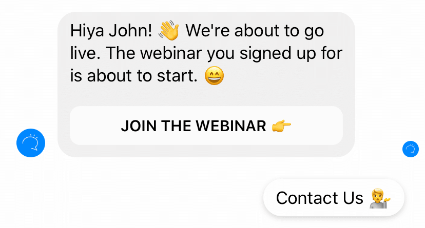 Integrate Meetvio: Boost Webinar Attendance with Clever Messenger